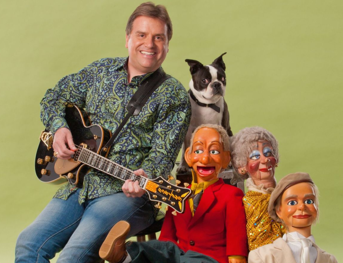 Ventriloquist Todd Oliver and Irving